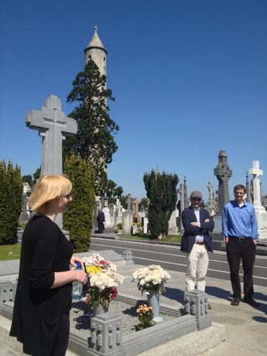 Michael Collins grave...