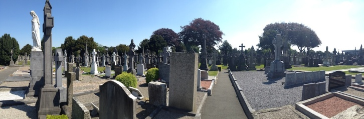 ...at the famous Glasnevin Cemetery.