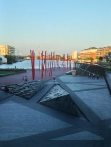 ...on Dublin's Grand Canal.