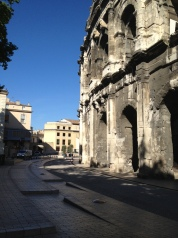 The Roman arena in Nimes.