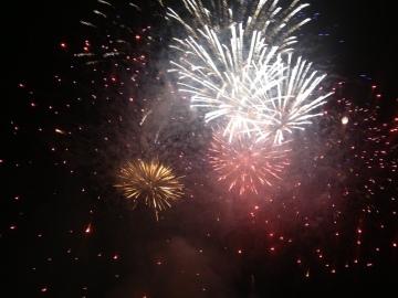 Pont du Gard fireworks