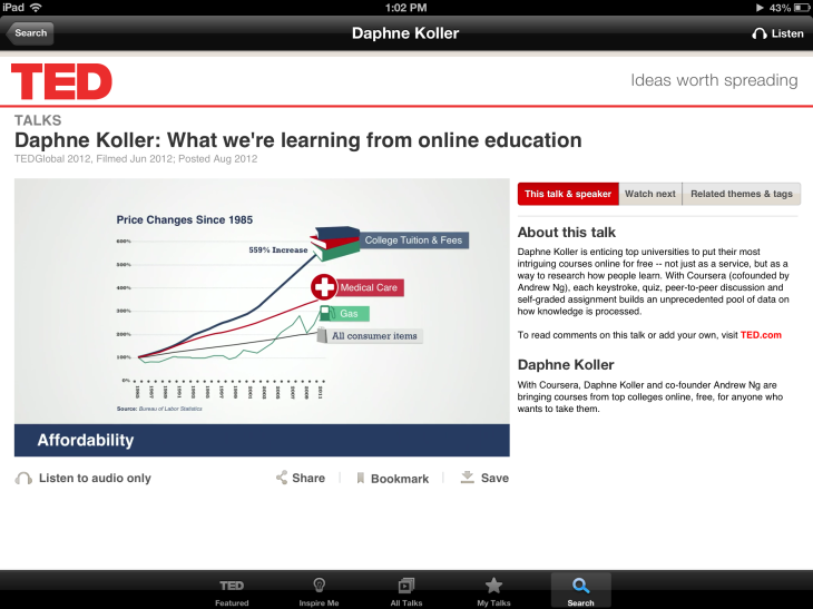 Daphne Koller: What we're learning from online education