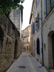 A street in Uzes.