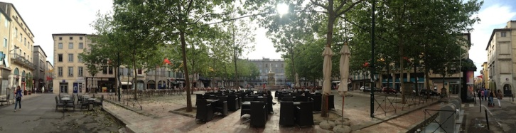 ...and newer plazas...