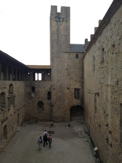 Here's the small inner courtyard...