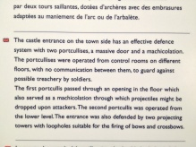 Info about the entrance....