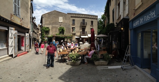 ...and small plazas.