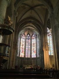 A stunning Gothic church...