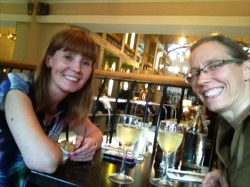 Dinner with Dr. Eileen Goold at Matt the Thresher's