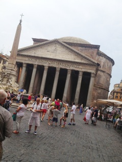 The next day, I visited the Pantheon...