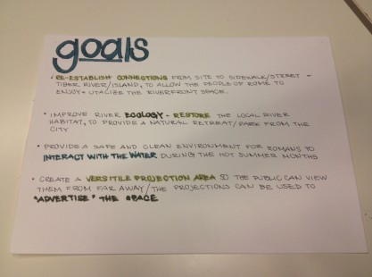 Laurel's goals and objectives...