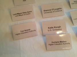 Impressive guest list.