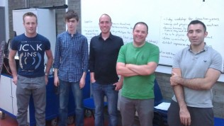 At the following workshop, Damon took a picture of the group. It was small but enthusiastic!