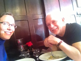 Lunch at The Green Hen with Dr. Joe Dennehy.