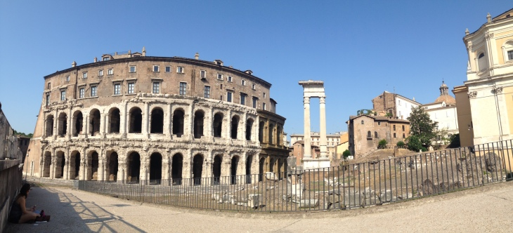 Theatro Marcello in Rome