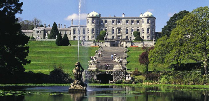 View of house from the garden (downloaded from www.powerscourt.ie).