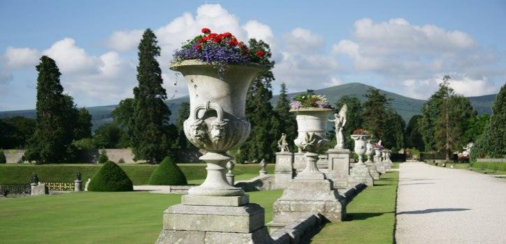 The garden (downloaded from www.powerscourt.ie).