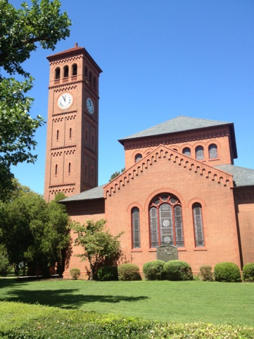 Hampton University's beautiful Memorial Chapel