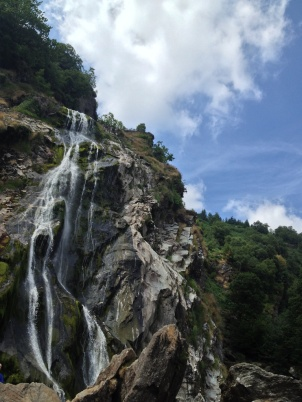 So I headed to the nearby Powerscourt waterfall....