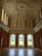 This grand hall has been restored...