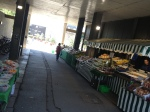 And I saw produce vendors in two different places--one by the hospital/medical school...