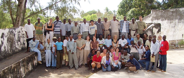 Our 2005 Fulbright-Hays group in Tanzania.
