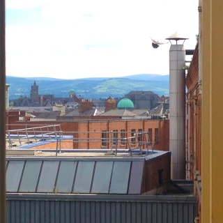 Here's the view from my new office at DIT Bolton Street. Pretty cool!