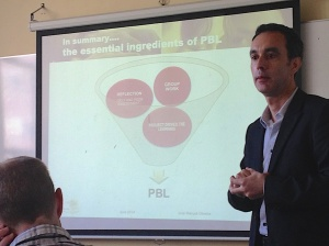 Jose's three essential elements of PBL.