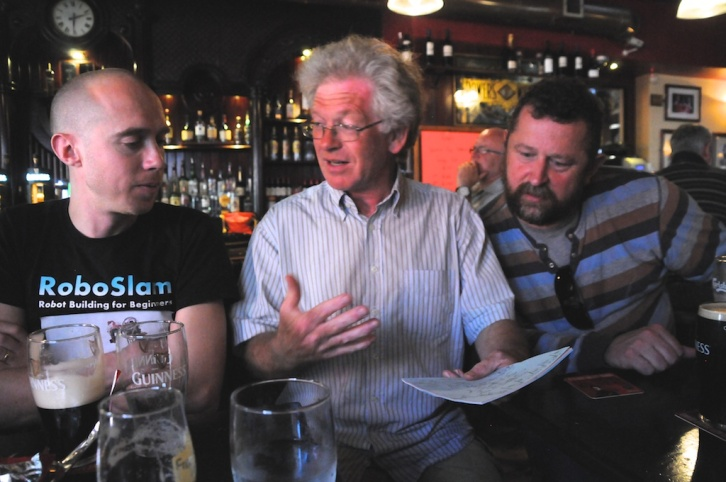 DIT Lecturers Ted Burke, Richard Hayes, and Damon Berry.