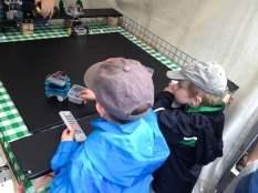 ...helped kids learn about and operate various types of robots...