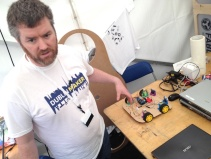 ...and meet Makers like Tony, from the FabLab in Derry.
