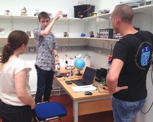 Shane Ormonde's new global robot arm.