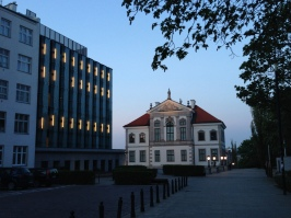 The studio was near the Chopin Museum...