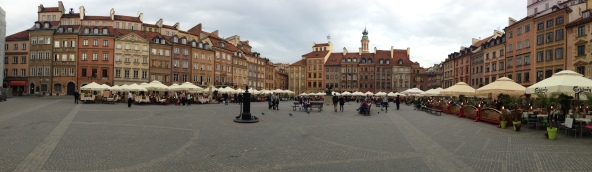 Re-built to match its former splendor, the Old Town stands in testament to the spirit and will of the Polish people.