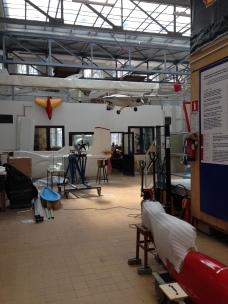 ...and even toured an aircraft hanger...