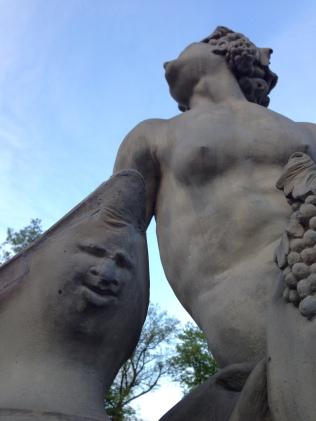 ...fanciful statuary...