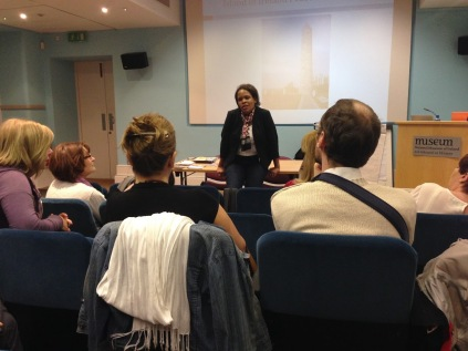 Cecilia Hartsell History presentation at Collins Barracks 2
