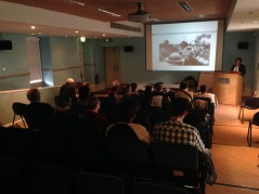 Cecilia Hartsell History presentation at Collins Barracks 4