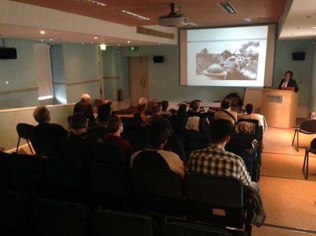 Cecilia Hartsell History presentation at Collins Barracks 6