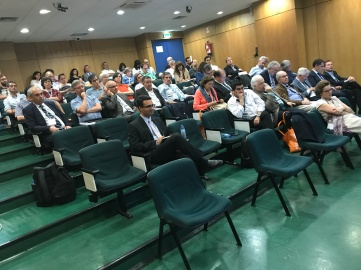 The ASIBEI audience during the panel prior to mine.