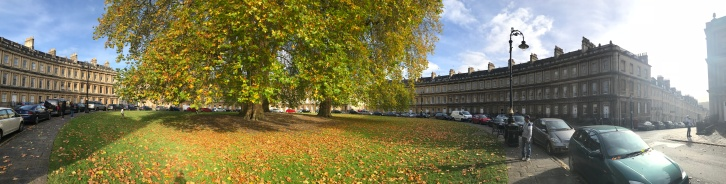 The Circus near Bath's Royal Crescent