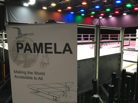 The testing platform at PAMELA