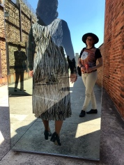 Visiting the Apartheid Museum is a very solum experience.